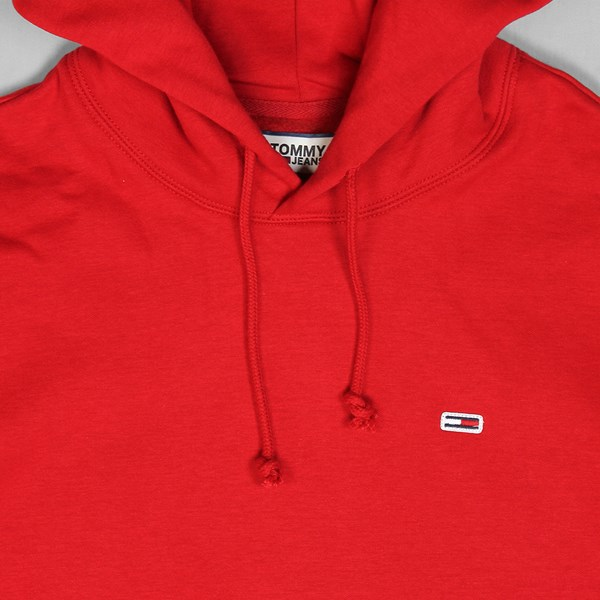 TOMMY JEANS CLASS HEAVYWEIGHT HOOD RED