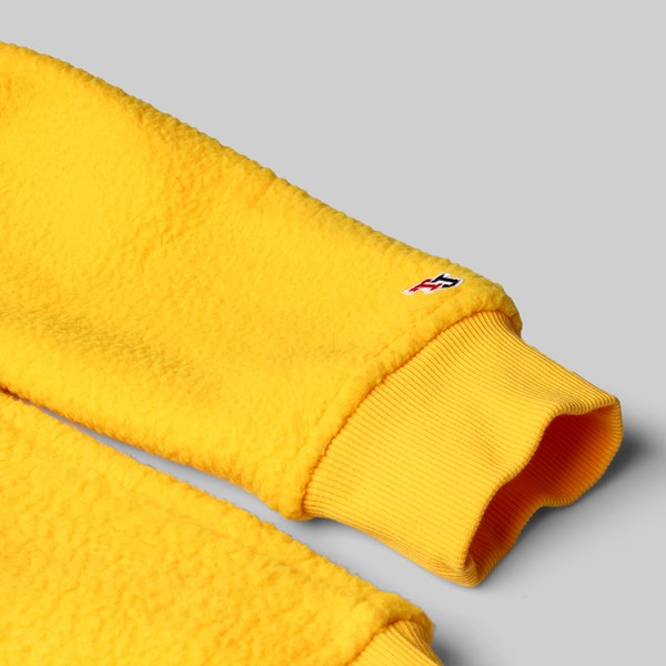TOMMY JEANS CLASS HEAVYWEIGHT QUARTER ZIP YELLOW