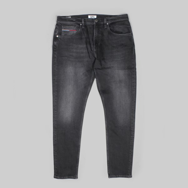 b0824198b TOMMY JEANS MODERN TAPERED DENIM BLACK | TOMMY JEANS Trousers