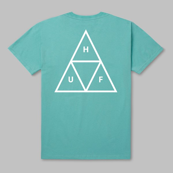 HUF TRIPLE TRIANGLE SS T-SHIRT CELADON