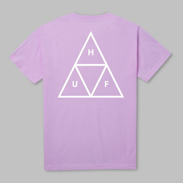 HUF TRIPLE TRIANGLE SS T-SHIRT LAVENDER