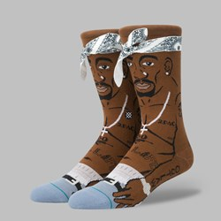STANCE SOCKS X TUPAC 'PRAISE COLLECTION' MULTI