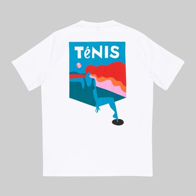 BY PARRA TENIS SS T-SHIRT WHITE