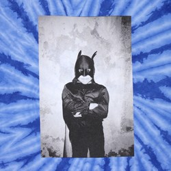 The Quiet Life Bat Man by Oswaldo Tee Blue