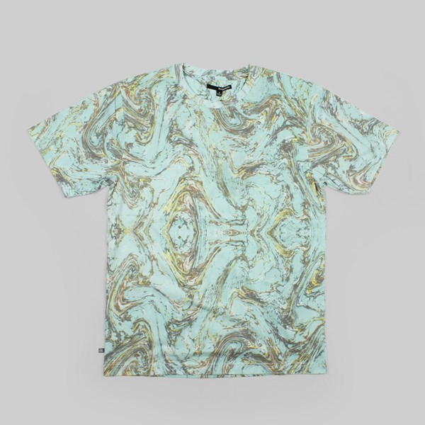 The Quiet Life Marble T Shirt Light Green