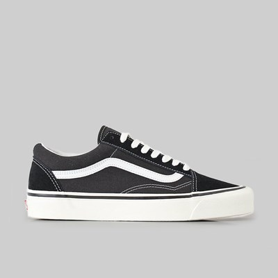 VANS OLD SKOOL 36 DX (ANAHEIM FACTORY) BLACK TRUE WHITE
