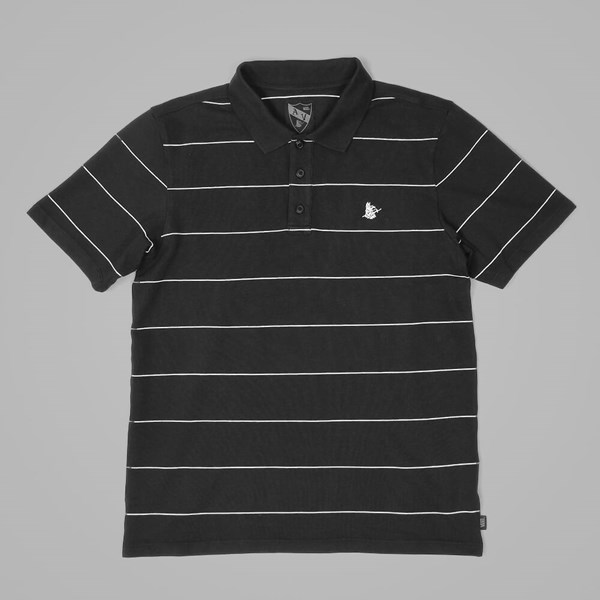 VANS AV BLUELINE POLO SHIRT BLACK