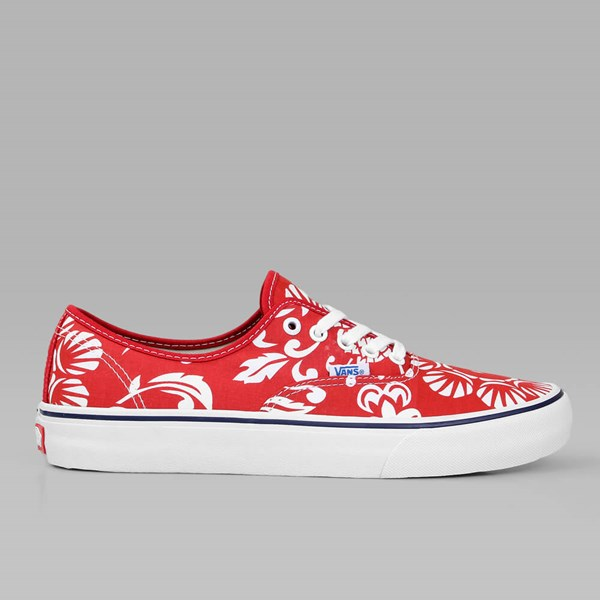 a4d4e82c4412 VANS Authentic Pro (50th)  66 Duke red white