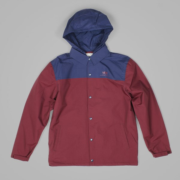 VANS CHIMA COACH JACKET PORT ROYALE DRESS BLUES