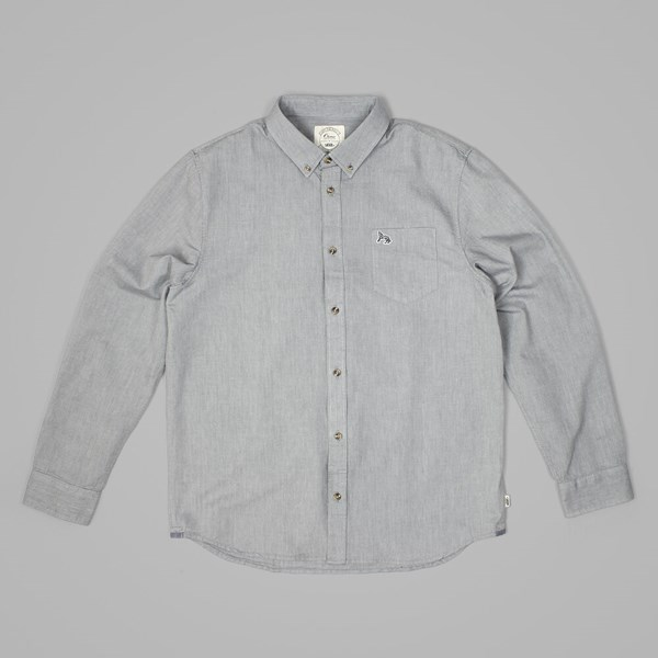 VANS CHIMA OXFORD SS SHIRT Gravel