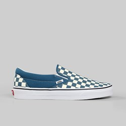 VANS CLASSIC SLIP-ON CHECKERBOARD CORSAIR TRUE WHITE