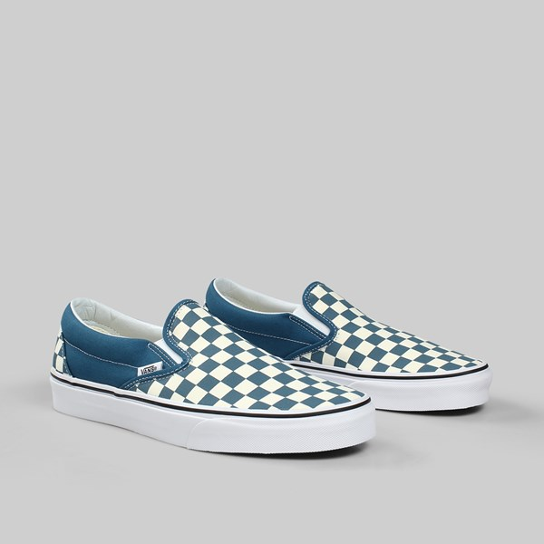 470584921fd0 VANS CLASSIC SLIP-ON CHECKERBOARD CORSAIR TRUE WHITE