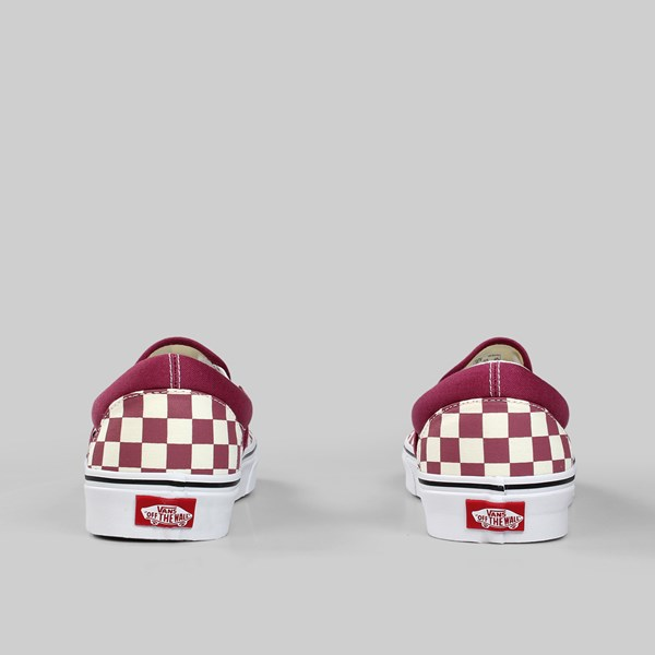 bff9037c425 VANS CLASSIC SLIP-ON CHECKERBOARD DRY ROSE WHITE