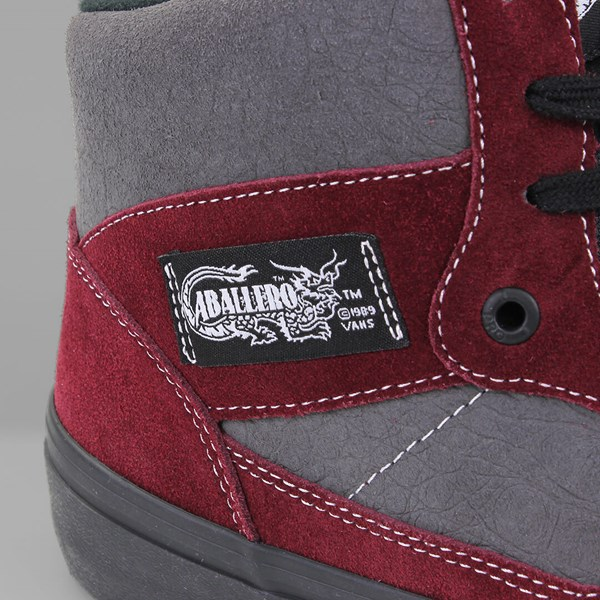 VANS FULL CAB PRO (50TH) 89' BURGUNDY