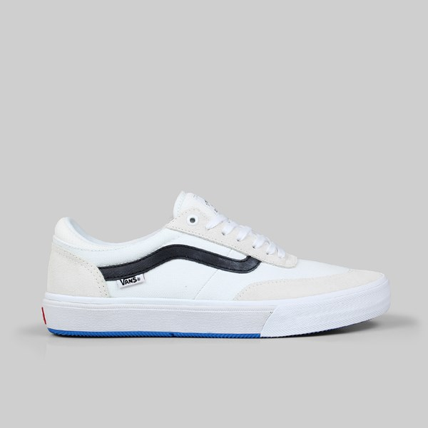 VANS GILBERT CROCKETT 2 PRO SUEDE TRUE WHITE BLACK