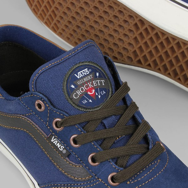 VANS GILBERT CROCKETT MIDNIGHT NAVY BROWN