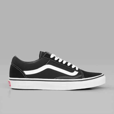 VANS OLD SKOOL BLACK WHITE