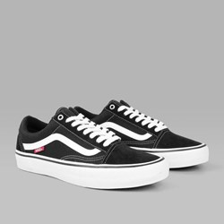 VANS PRO SKATE OLD SKOOL BLACK WHITE
