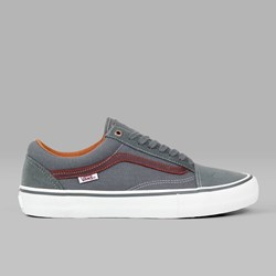 VANS OLD SKOOL PRO GUNMETAL BURNT HENNA