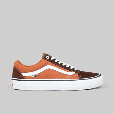 VANS OLD SKOOL PRO POTTING SOIL LEATHER BROWN