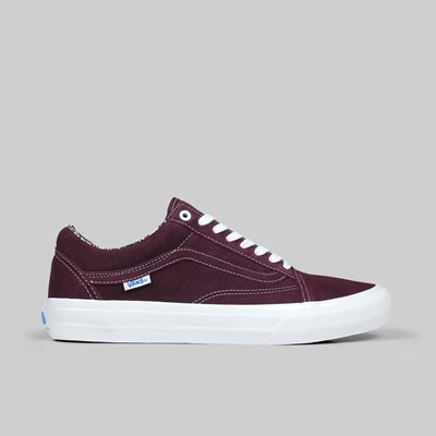 VANS OLD SKOOL PRO X RAY BARBEE OG BURGUNDY