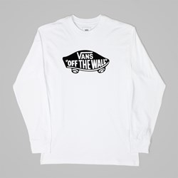 VANS OTW LS T-SHIRT WHITE BLACK