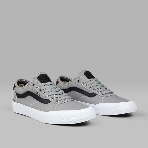VANS PRO SKATE CHIMA 2 GREY BLACK WHITE