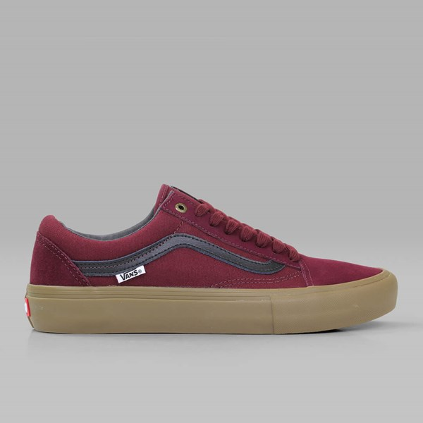 VANS PRO SKATE OLD SKOOL PORT BLACK GUM