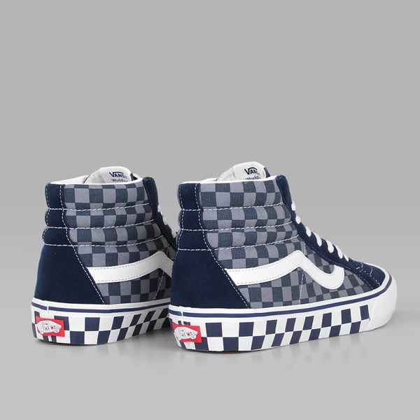 VANS SK8 HI REISSUE PRO (50TH) '83 CHECKER BLUE GREY