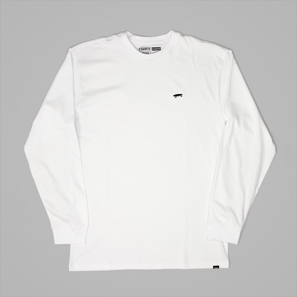VANS SKATE LONG SLEEVE T-SHIRT WHITE