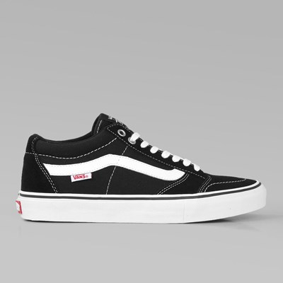 VANS SKATE TNT SG BLACK WHITE