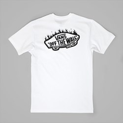 VANS SKATE X THRASHER POCKET T-SHIRT WHITE