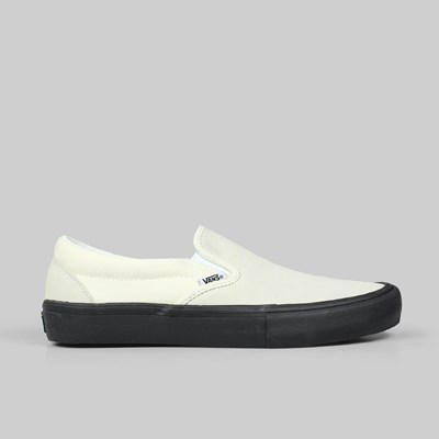 VANS SLIP-ON PRO CLASSIC WHITE BLACK