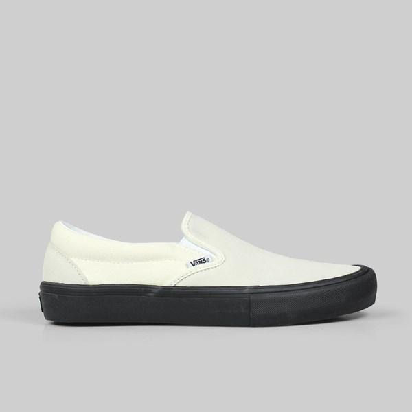 eaf0e6599a VANS SLIP-ON PRO CLASSIC WHITE BLACK