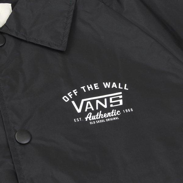 VANS TORREY COACHES JACKET BLACK