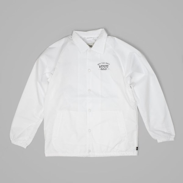VANS TORREY COACHES JACKET BRIGHT WHITE