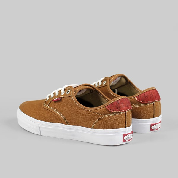 0665acee97 Vans Chima Ferguson Pro Cork Rubber Red