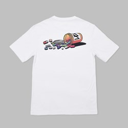 WAYWARD SKATEBOARDS PILLAGE TEE WHITE