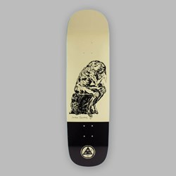 WELCOME CRINKER ON NIBURU CREAM DECK 8.75""