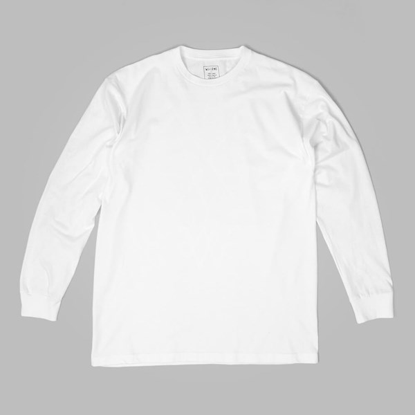 WELCOME DEVOUR LS TEE WHITE