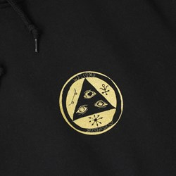 WELCOME GOLDEN GOAT LT PO HOODY BLACK