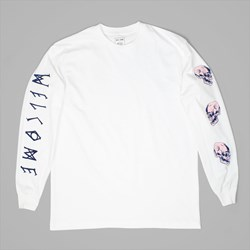 WELCOME SKATEBOARDS SAPIEN LONG SLEEVE WHITE
