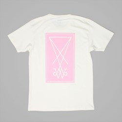 WELCOME SKATEBOARDS SYMBOL TEE NATURAL PINK