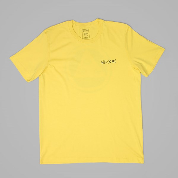 WELCOME TALISMAN TEE YELLOW BLACK
