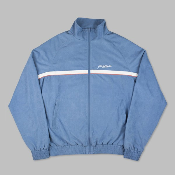 YARDSALE AIRFORCE BLUE WAVERUNNER TRACK JACKET