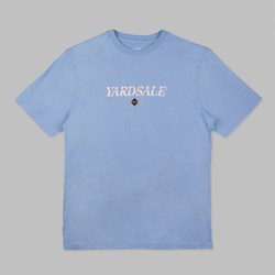 YARDSALE BABY BLUE DIAMOND SS T-SHIRT BLUE