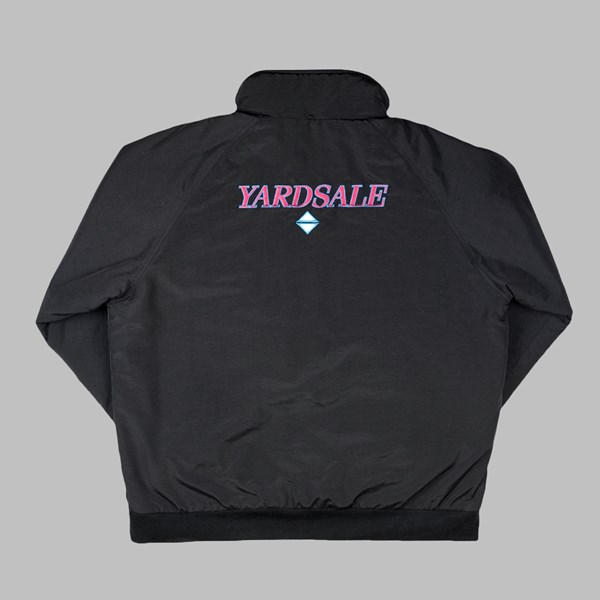 YARDSALE BLACK ALASKA COAT BLACK
