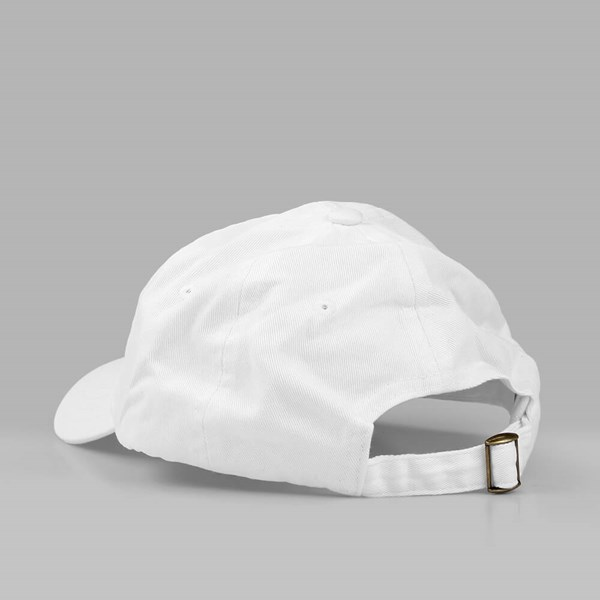YARDSALE FLORAL 6 PANEL DAD CAP WHITE