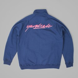 YARDSALE FULL ZIP FLEECE MIDNIGHT BLUE