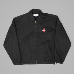 YARDSALE HARRINGTON JACKET BLACK